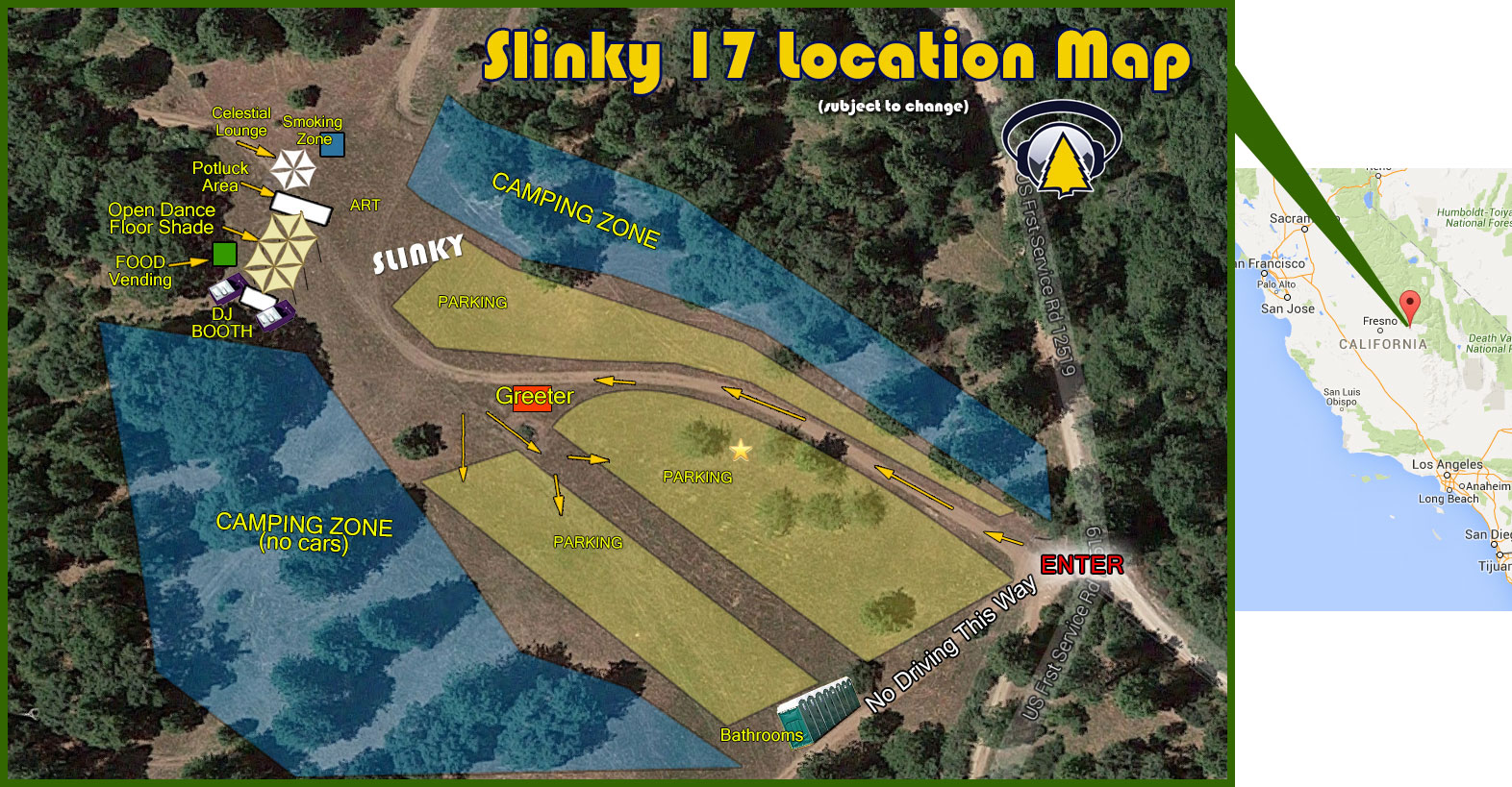 Slinky 17 Layout Map